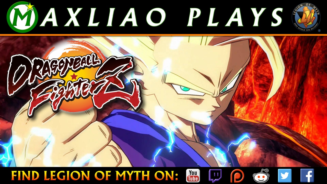 MaxLiao streams Dragon Ball FighterZ