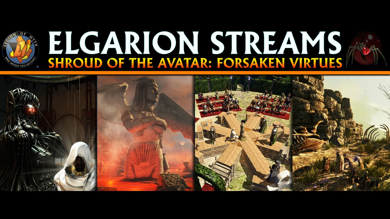 Elgarion streams Shroud of the Avatar: Forsaken Virtues