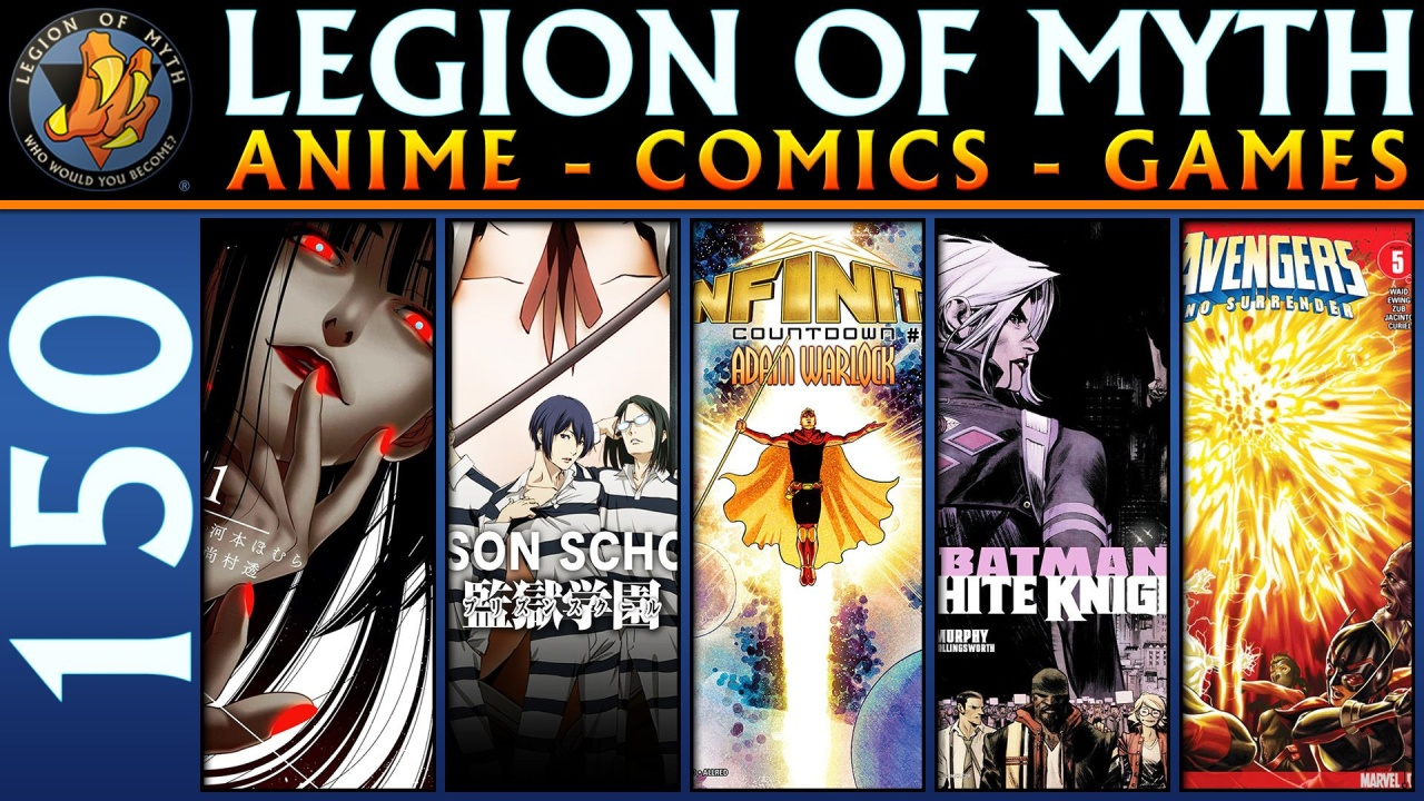 ANIME – COMICS – GAMES | #150 | 10 Feb 2018 | Kakegurui, Prison School, Batman, Avengers, and MORE!