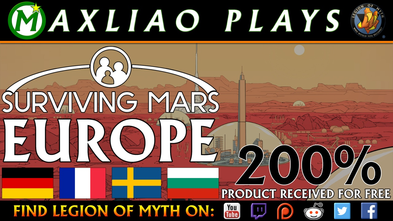 MaxLiao plays Surviving Mars
