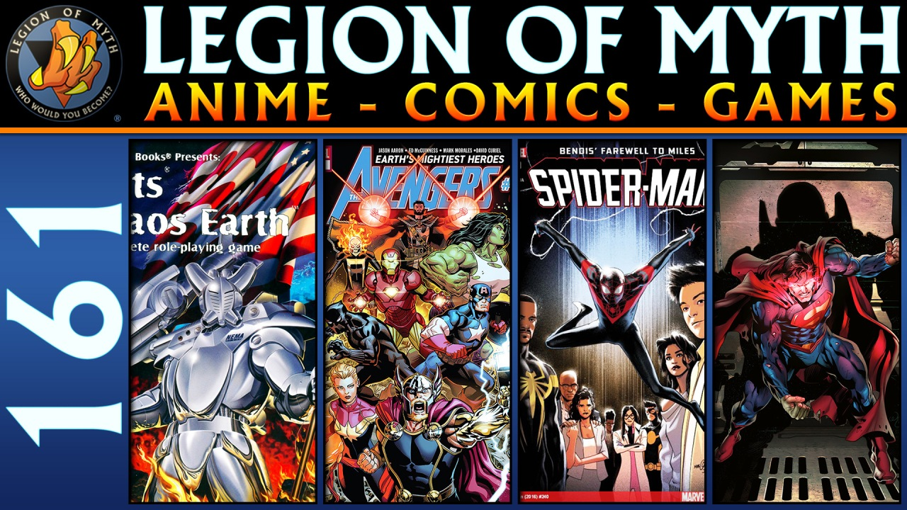 Rifts Chaos Earth, Avengers #1, Action Comics Special #1, Spider-Man #240 | LoMWL #161 | 05 May2018