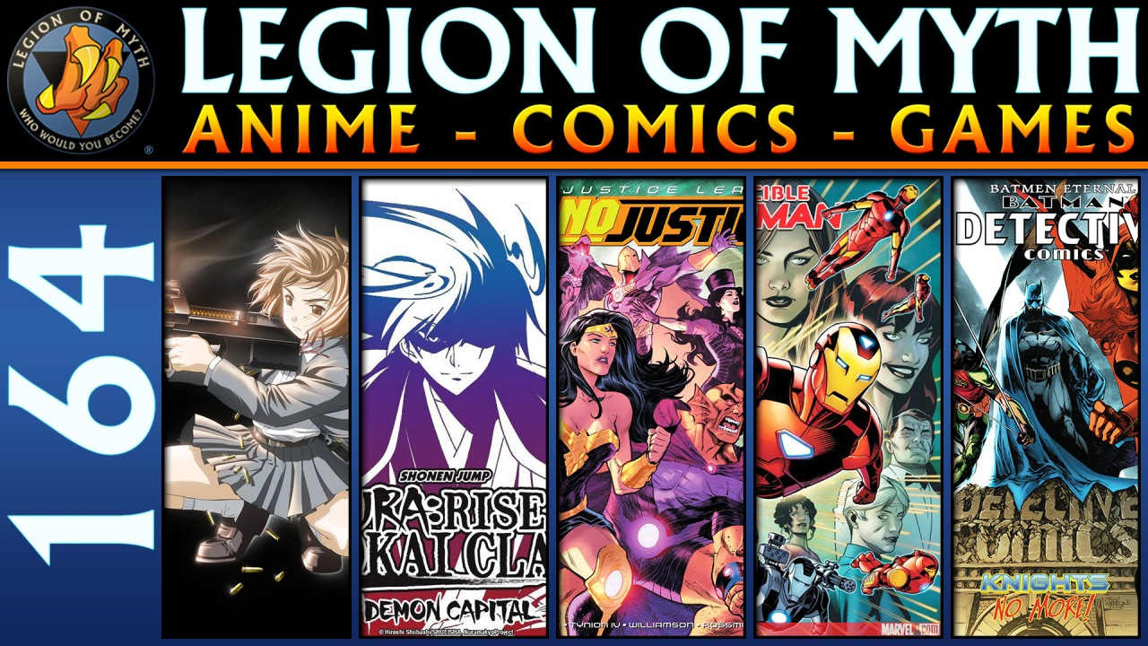 2 Anime Reviews, 3 Comic Books Reviews & Marvel Comics is run by D-Bags | LoMWL #164 | 26 May 2018