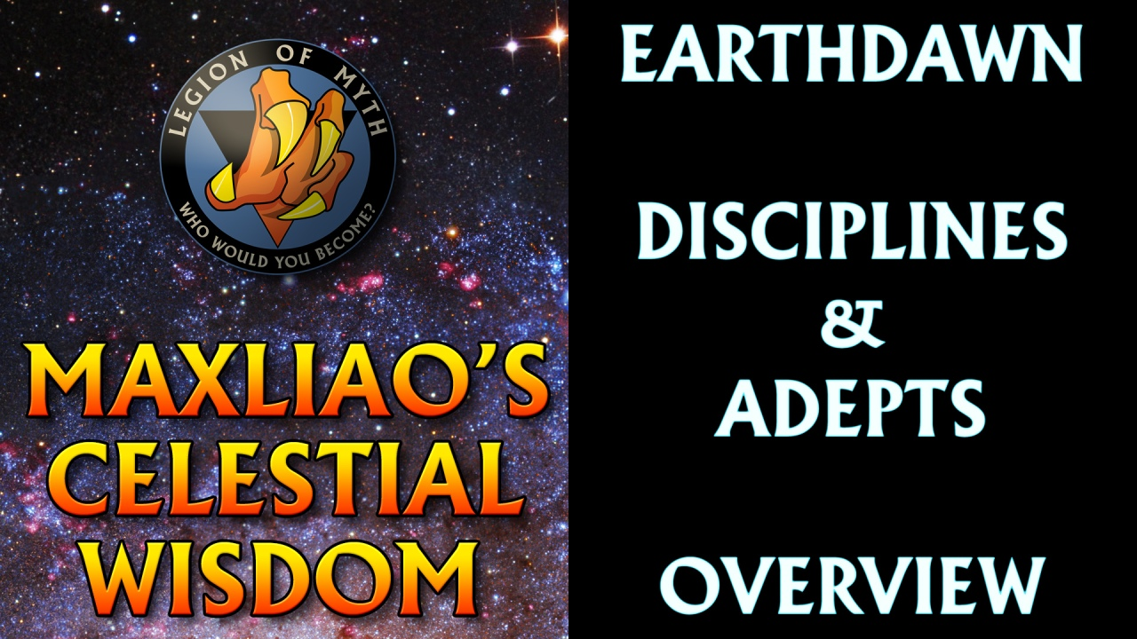 Episode 01 – Earthdawn Disciplines & Adepts an Overview