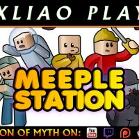 MEEPLE STATION | Let's Try | Space Station Rimworld? (A pre-Alpha Kickstarter Demo)