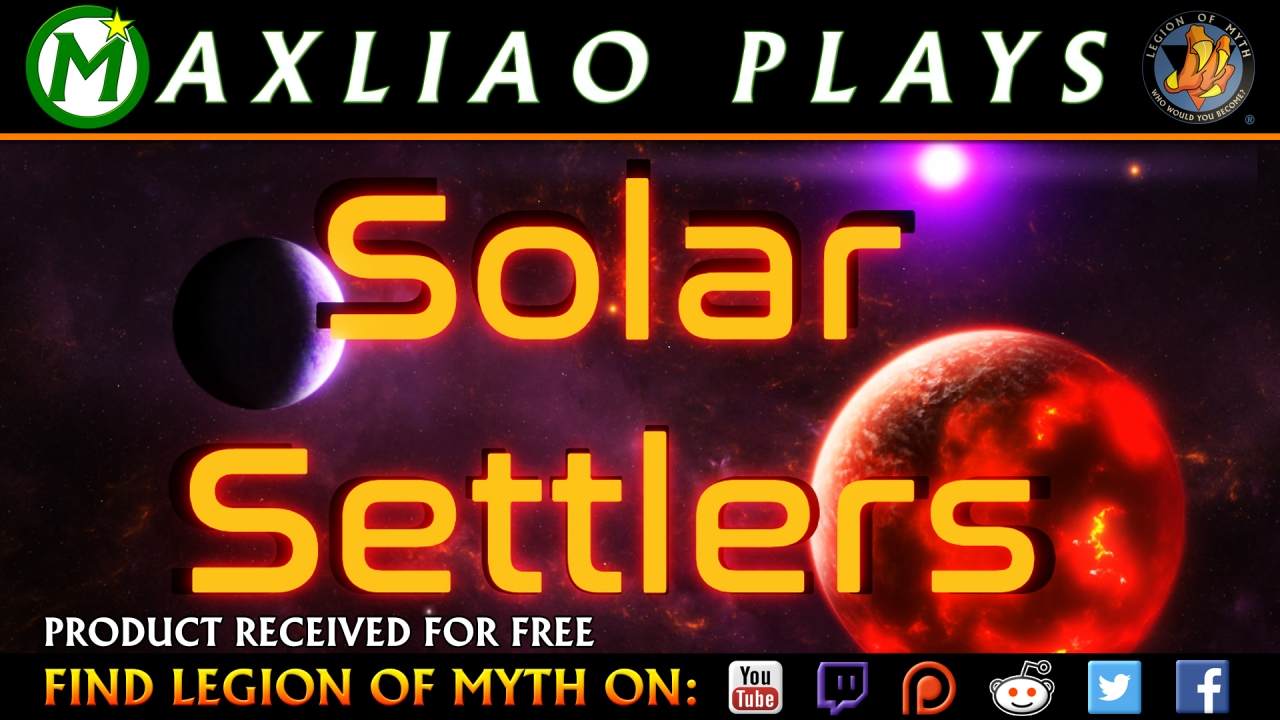 SOLAR SETTLERS | Let's Try – Card-driven space exploration strategy game.