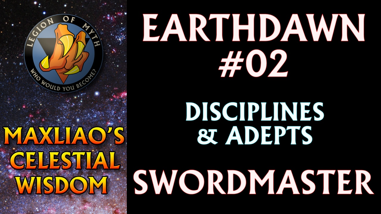[Earthdawn #02] – Earthdawn Disciplines & Adepts: Swordmaster