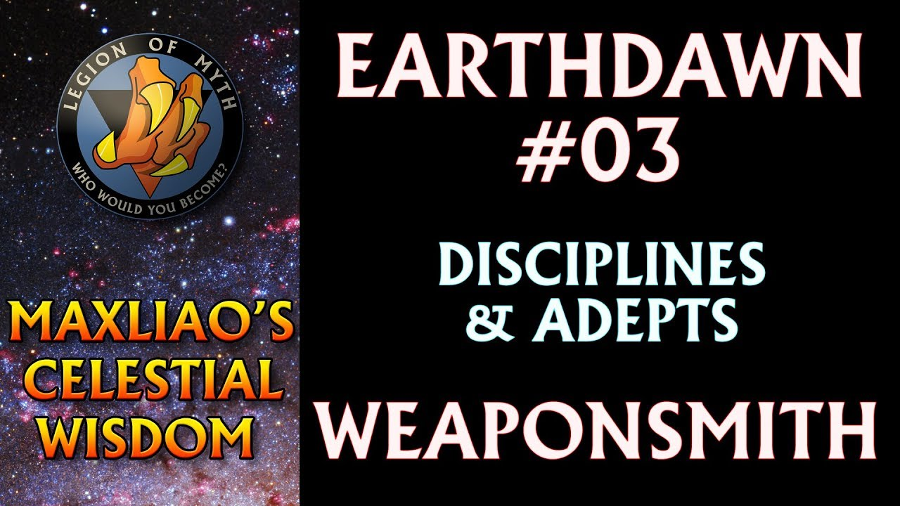 [Earthdawn #03] – Earthdawn Disciplines & Adepts: Weaponsmith