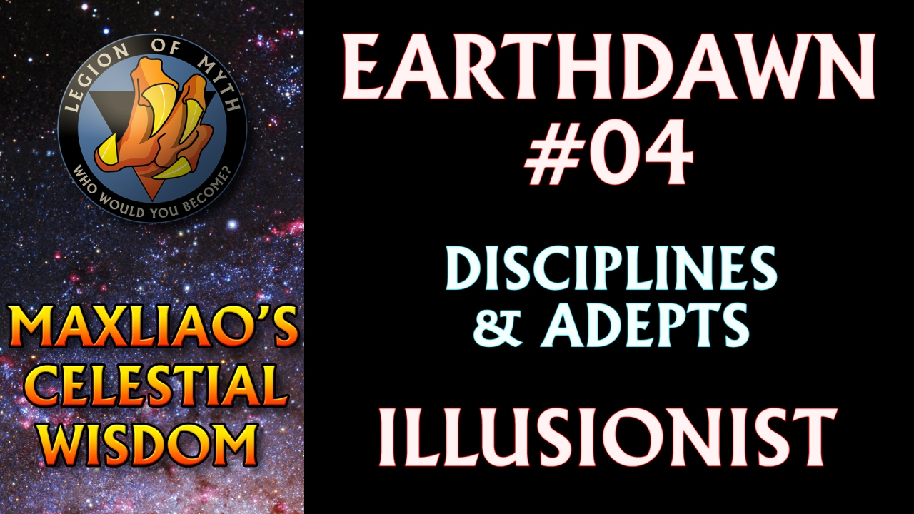 [Earthdawn #04] – Earthdawn Disciplines & Adepts: Illusionist