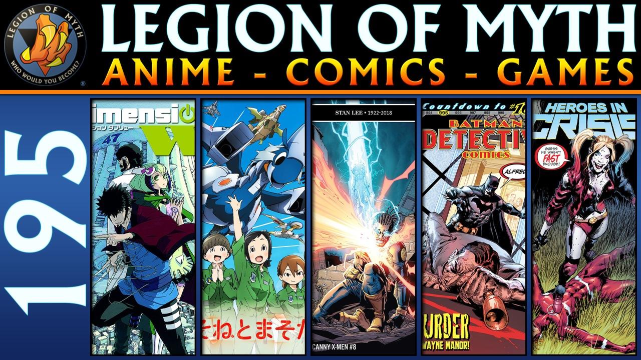 Dimension W, Dragon Pilot, Uncanny X-Men #8, Detective Comics #995, Heroes In Crisis #4 | 5 Jan2019
