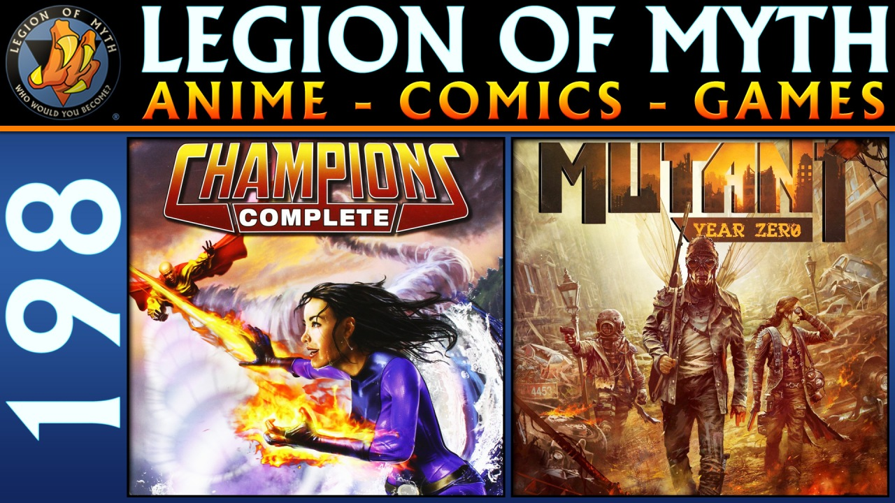 Champions RPG (Vehicle Construction); Mutant: Year Zero RPG; Star Trek Discovery | 26 Jan 2019