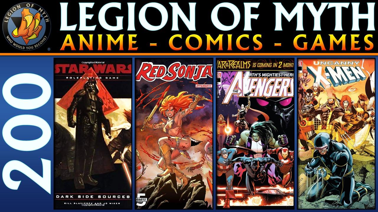 Star Wars D20 RPG: Dark Side Sourcebook | Avengers #14, Red Sonja #1, Uncanny X-Men #11 | 9 Feb2019