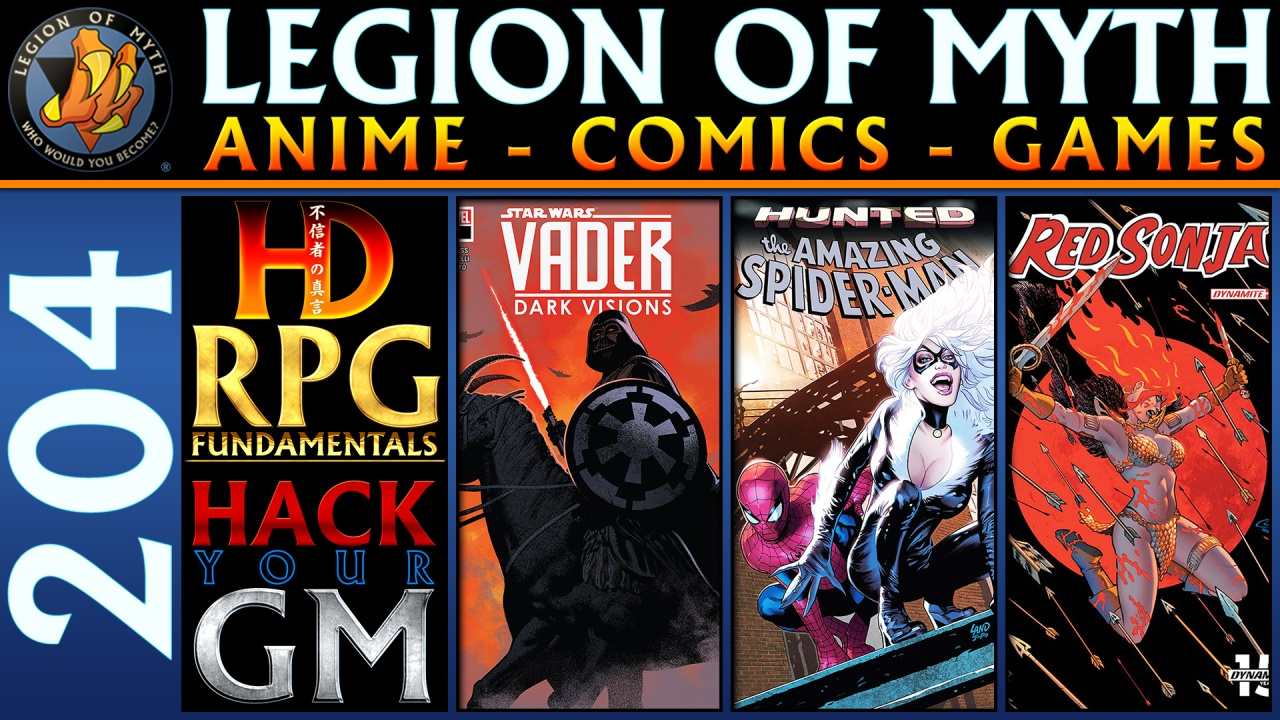 Hack your Game Master | Red Sonja #2, Amazing Spider-Man #16.HU, and Vader: Dark Vision #1