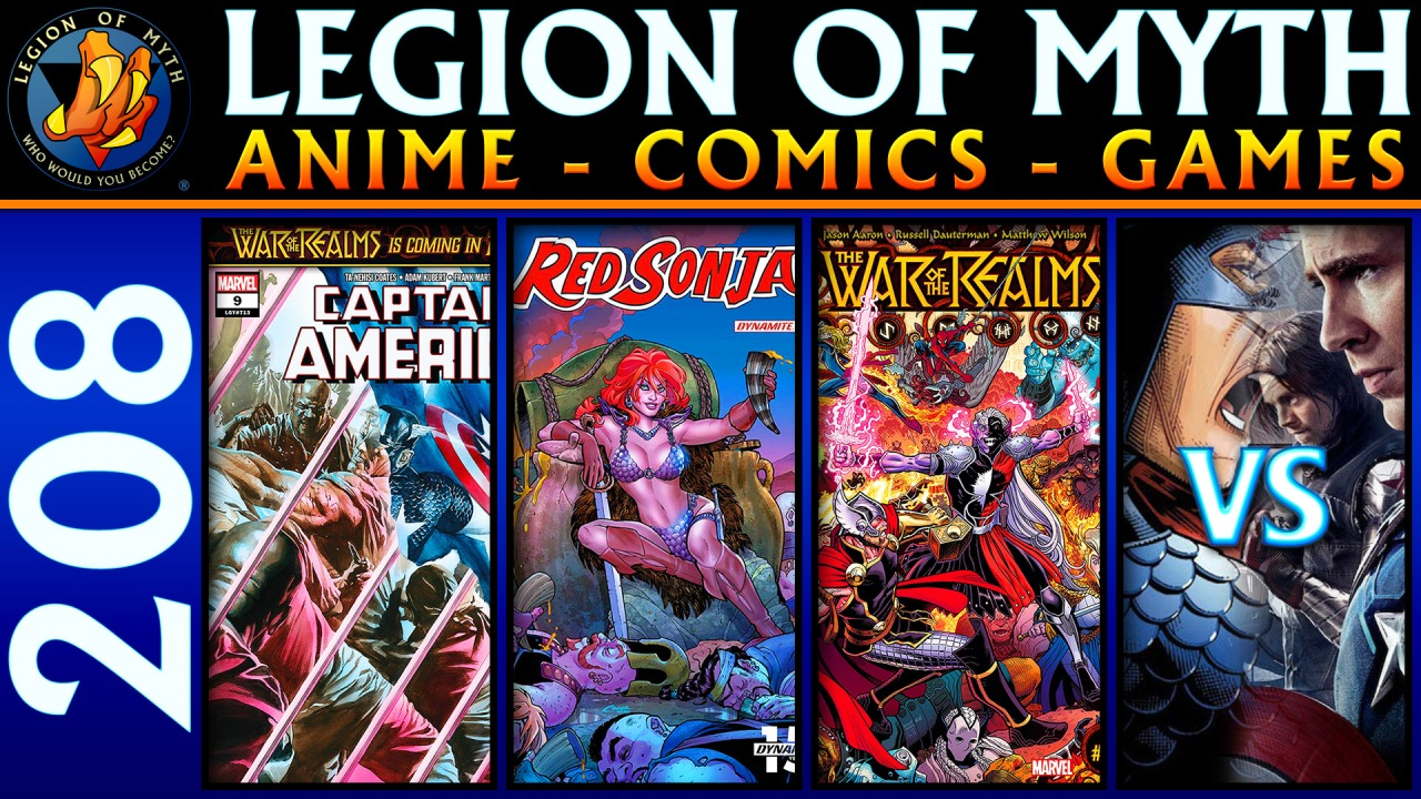 Captain America #9, Red Sonja #3 & War Of The Realms #1 | Marvel Comics vs MCU