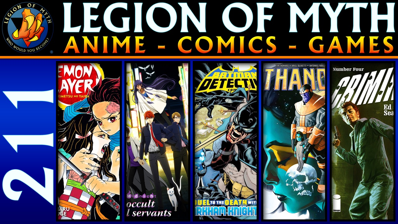 Demon Slayer, Midnight Occult | Detective Comics, Thanos, Criminal | Avengers:Endgame