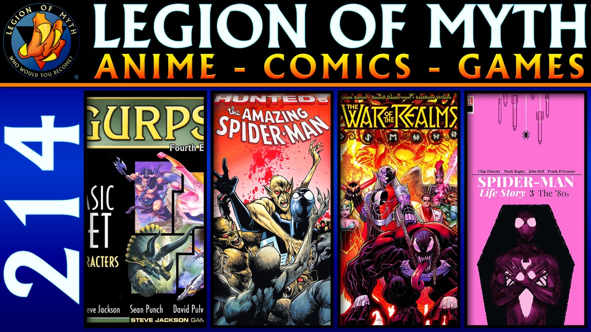 GURPS Character Creation | Amazing Spider-Man #21, War Of The Realms #4, Spider-Man: Life Story #3