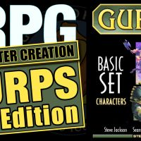 GURPS RPG: How to CREATE A CHARACTER - Part 3