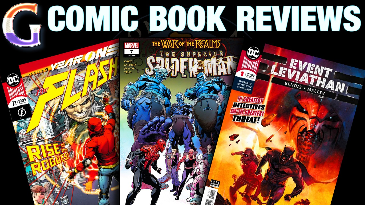 COMIC BOOK REVIEWS: The Flash #72, Superior Spider-Man #7 & Event Leviathan #1
