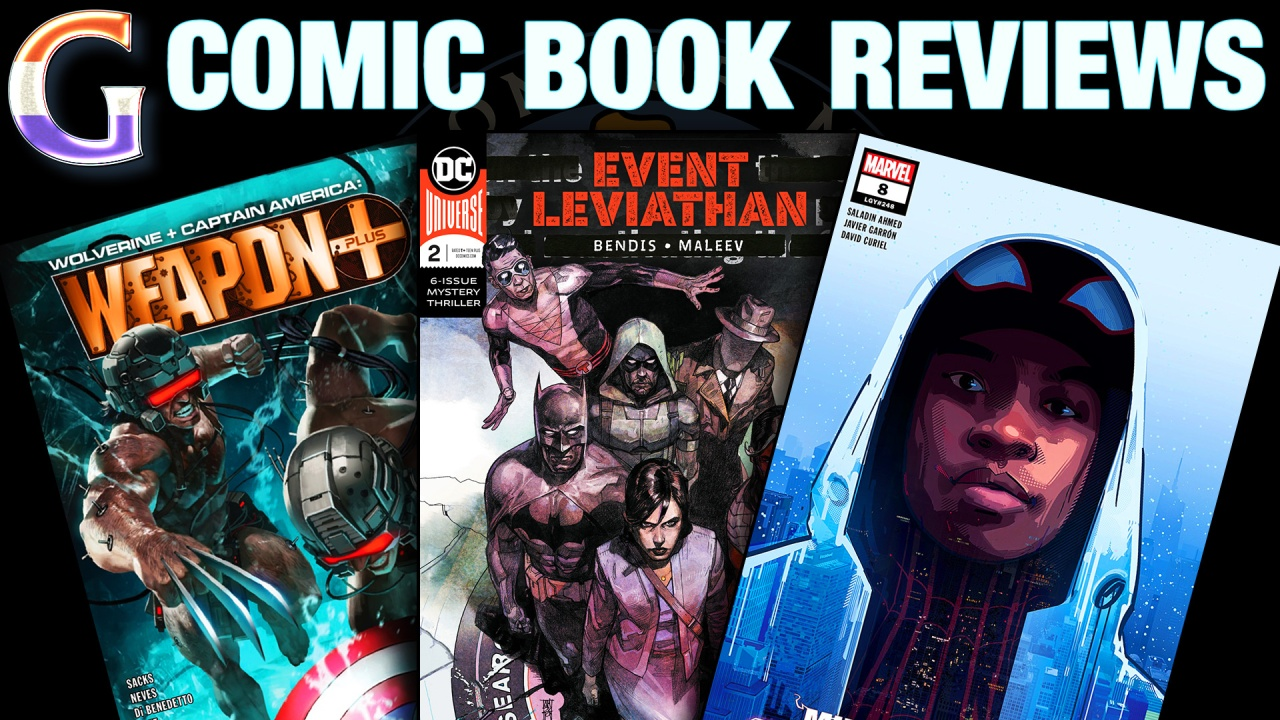 Wolverine & Captain America: Weapon Plus #1, Event Leviathan #2 & Miles Morales: Spider-Man #8