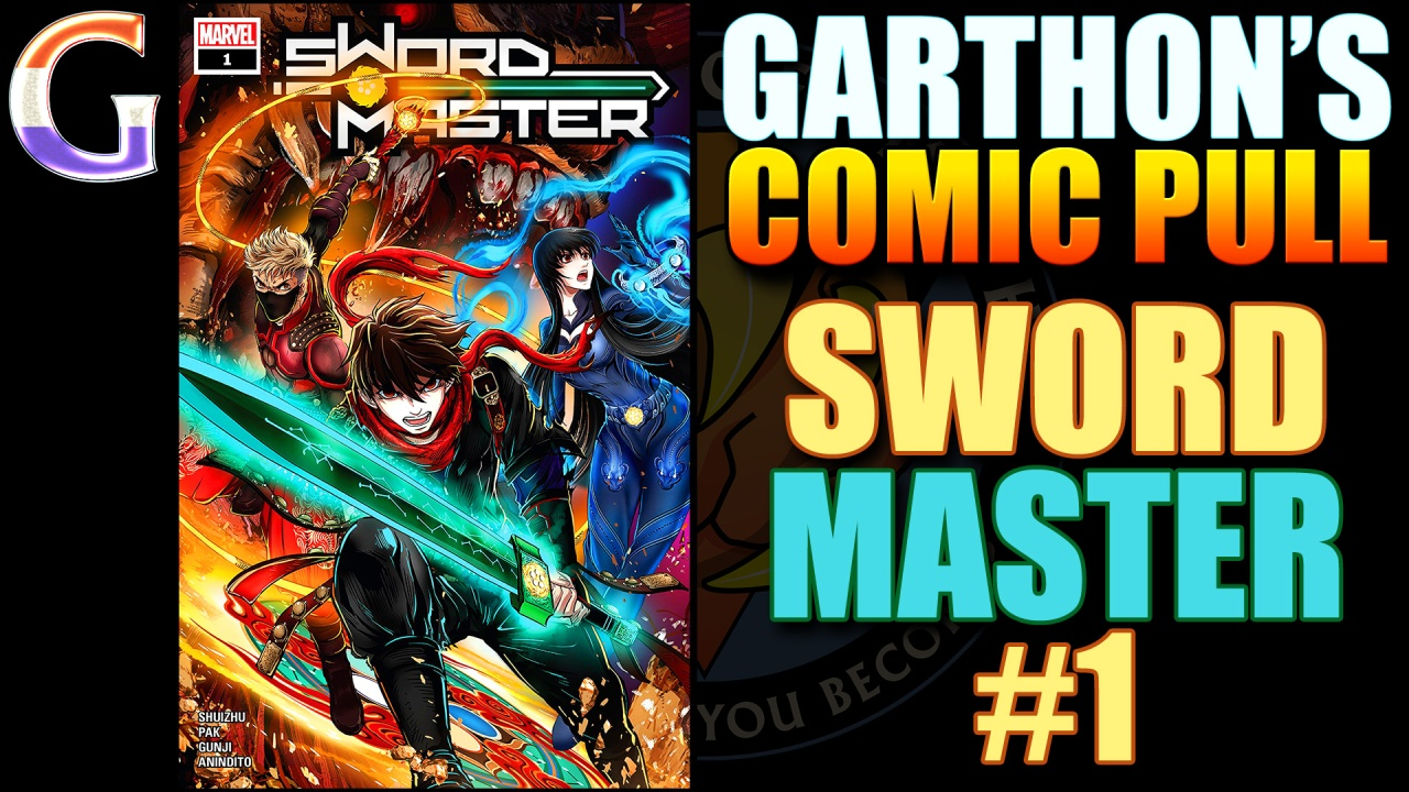 Comic book review: SWORD MASTER #1
