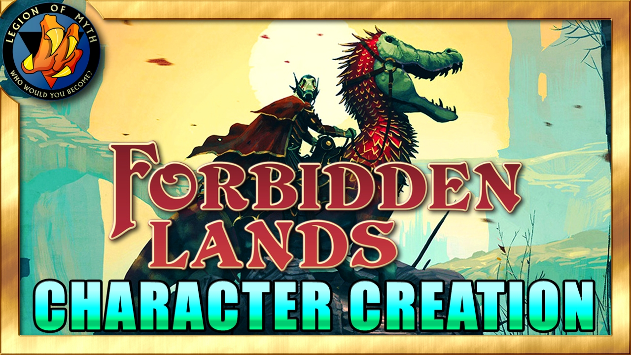 Forbidden Lands – Let's CREATE A CHARACTER
