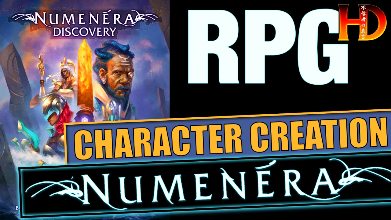 Numenera RPG: How to CREATE A CHARACTER (Part 2)