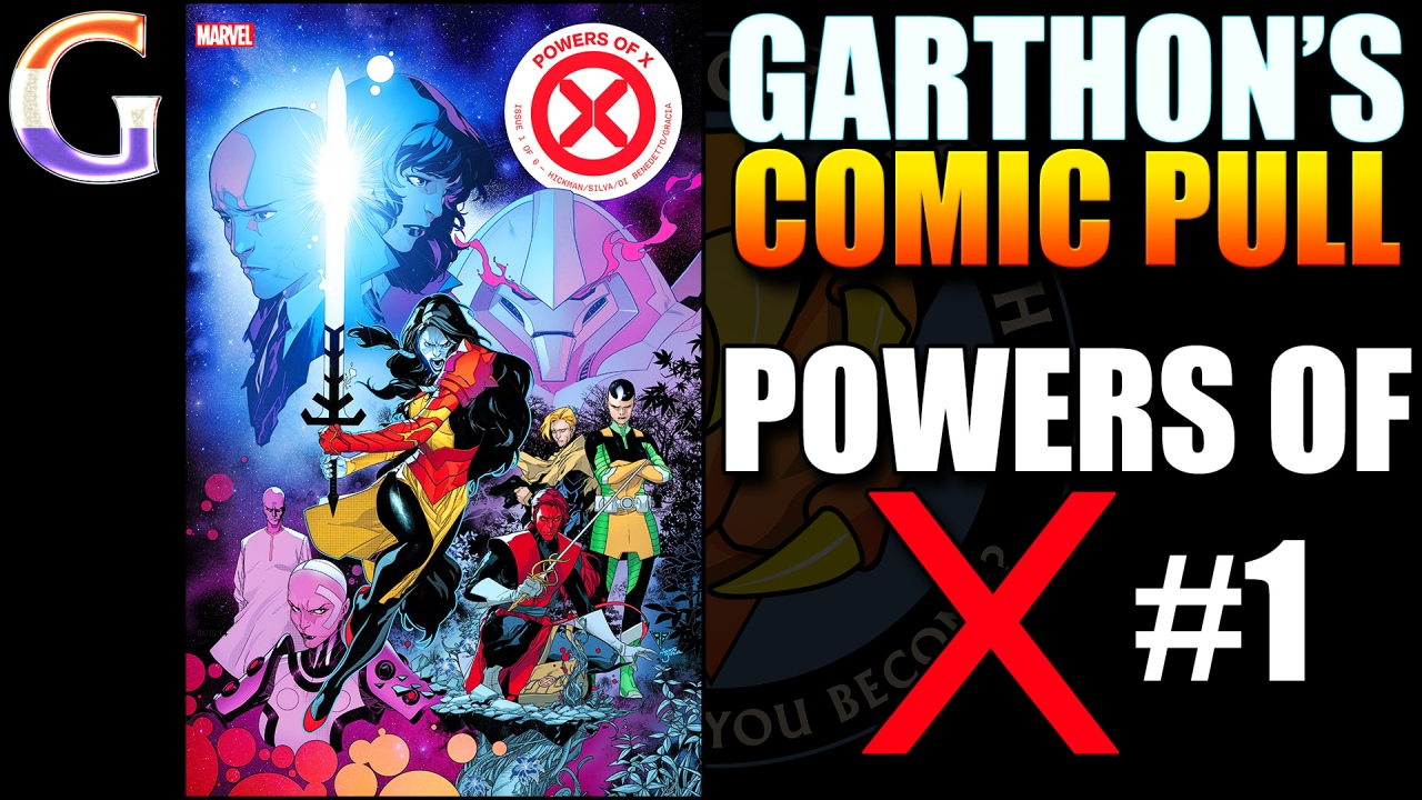 Review – POWERS OF X #1 – 😒😒½ of Uninteresting 'Meh'