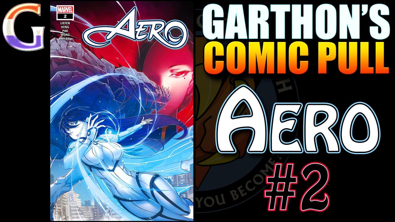 Review – AERO #2 – If you like ANIME COMICS you'll love Marvel's 💪💪💪💪not-manga!