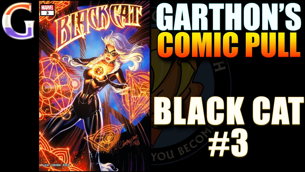 Review – BLACK CAT #3 – A 😺😺😺½ fun Marvel comic with a ghost dog🐶