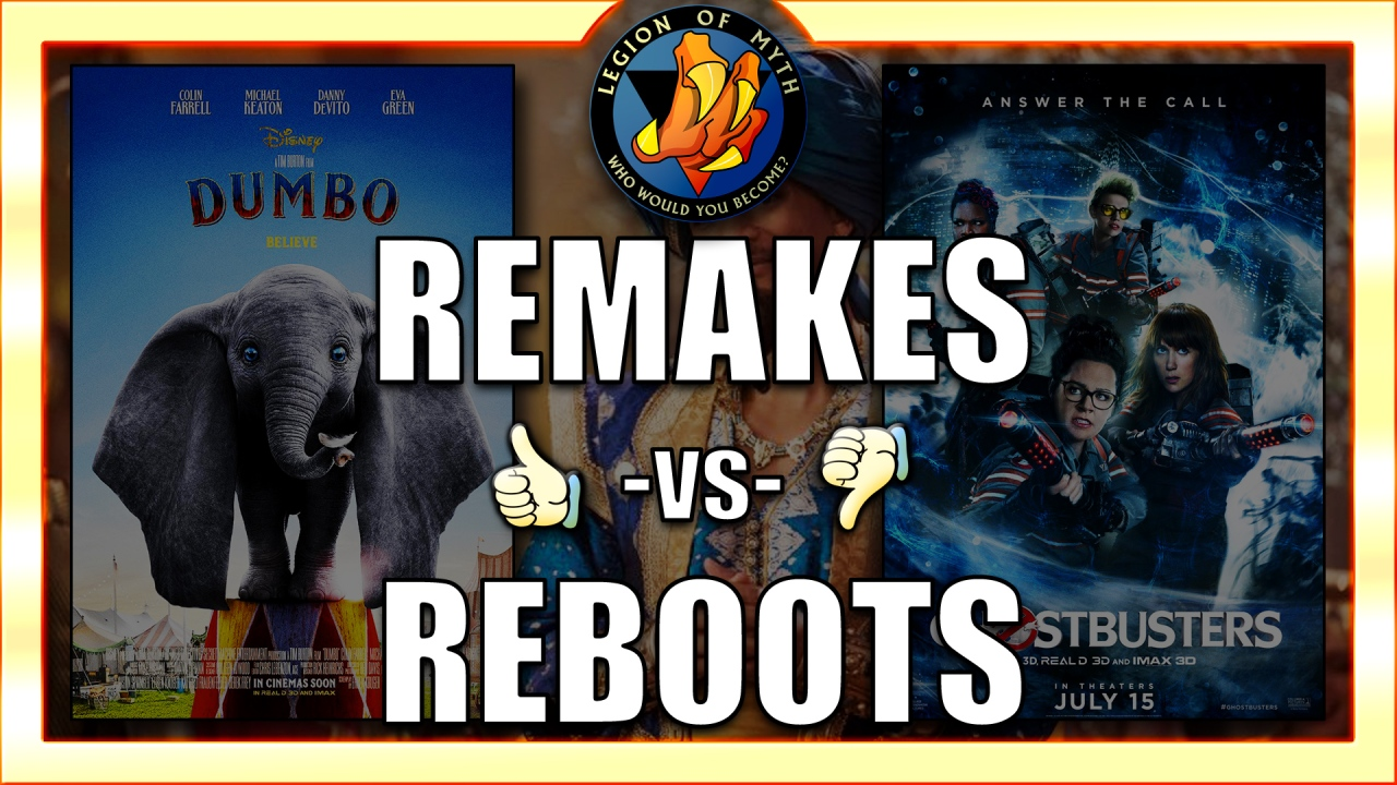 Movie REMAKES & REBOOTS – 👍👎 – are they good or bad?