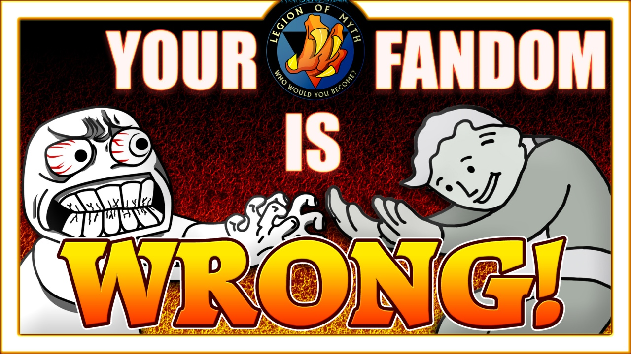 Your Fandom is Wrong! (or How to White Knight)