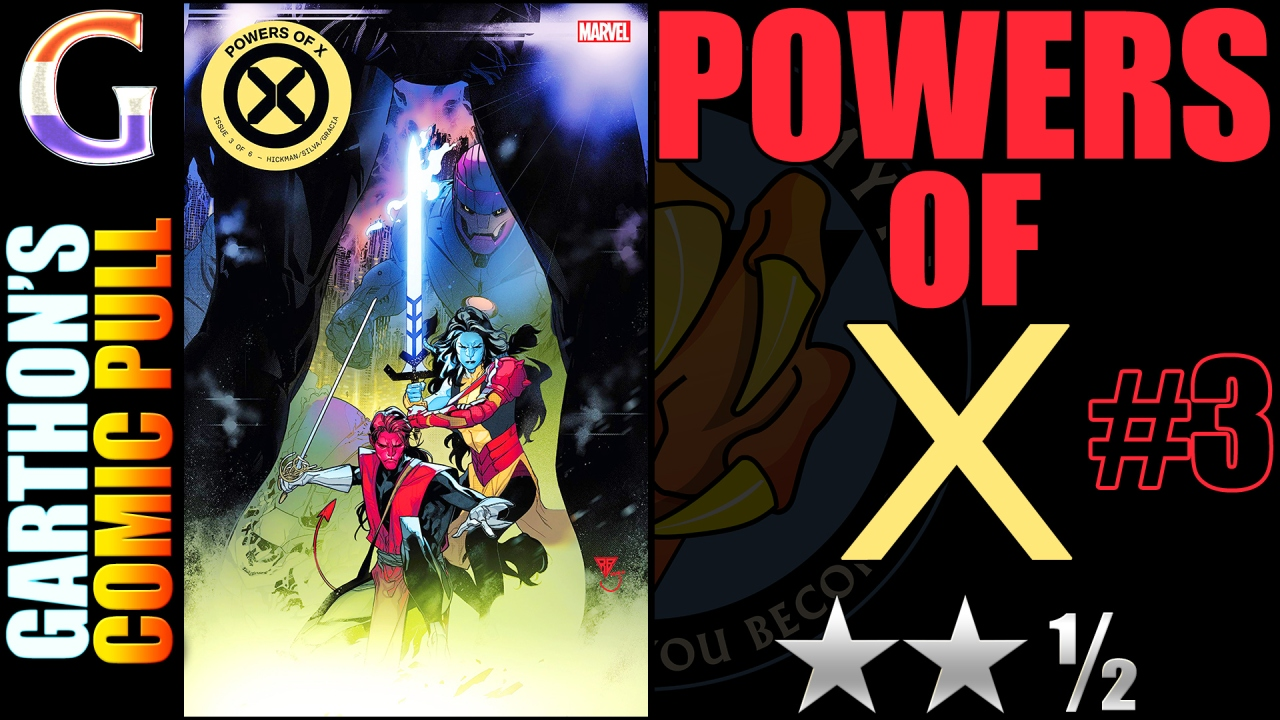 Review of POWERS OF X #3 – [😐😐½] Great art but what's the point?