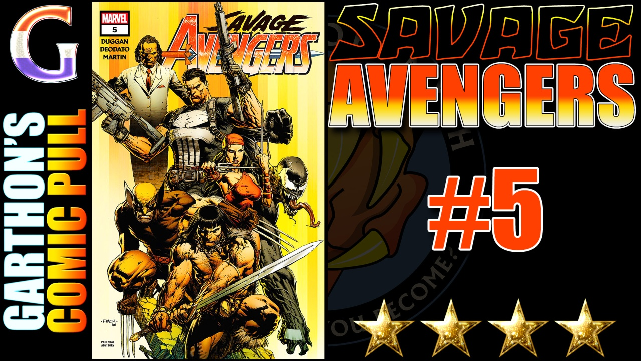 Comic Book Review: SAVAGE AVENGERS #5 – 💪💪💪💪 of brutality and excitement