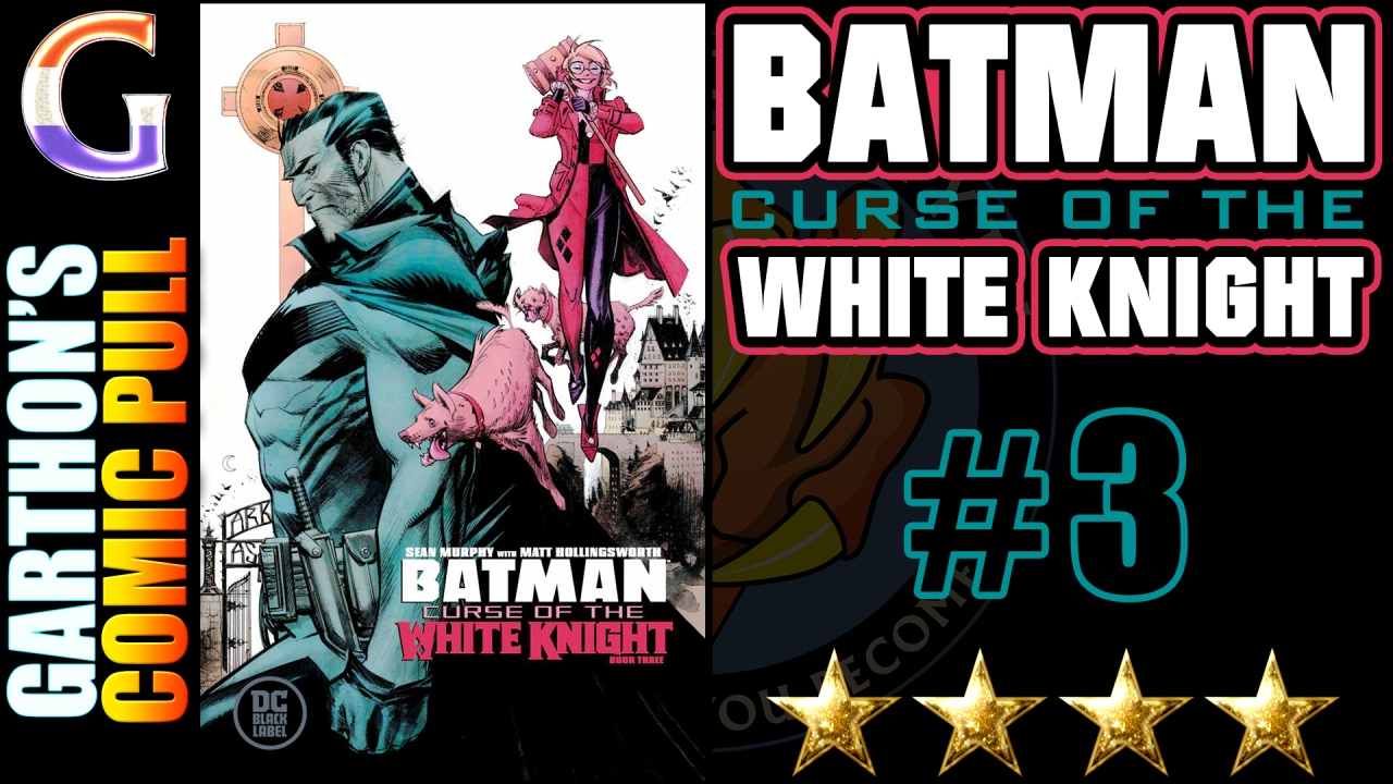 BATMAN: CURSE OF THE WHITE KNIGHT #3 review – Building a [💪💪💪💪] story