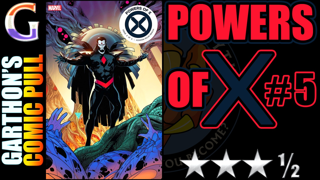 POWERS OF X #5 review – A fun, understandable [😊😊😊½] read