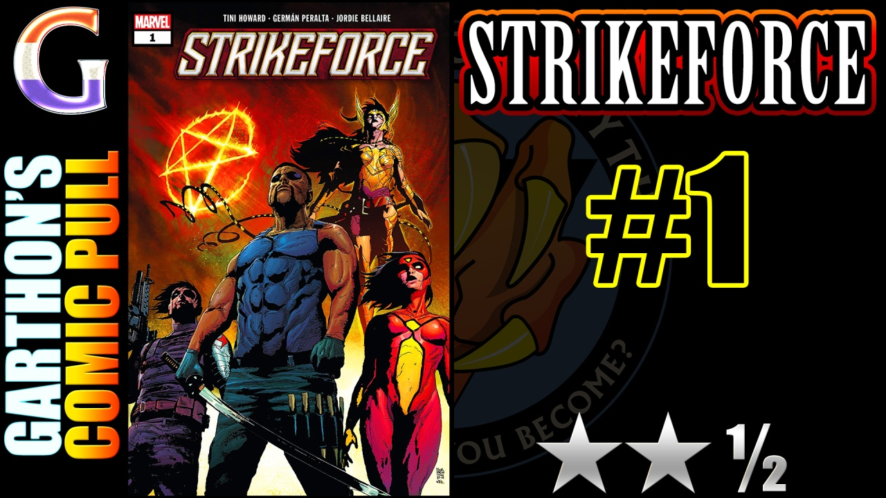 STRIKEFORCE #1 review – A random group of [😐😐½] superheroes
