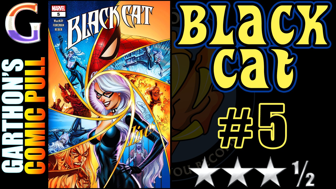 BLACK CAT #5 Review – [😊😊😊½] of interesting and intelligentstorytelling