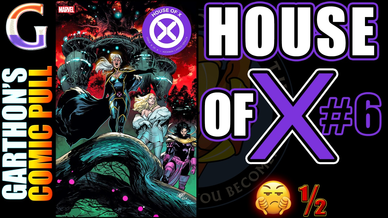 HOUSE OF X #6 Review – A stupid and boring, [💩½] story to be shunned andshamed