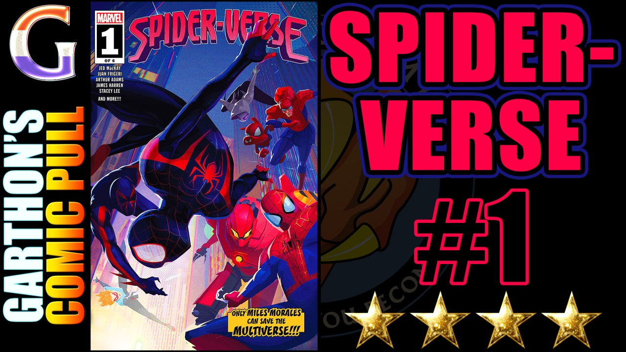 SPIDER-VERSE #1 Review – A [💪💪💪💪] world hopping adventure