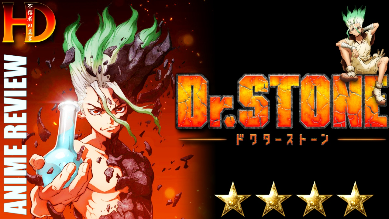 DR. STONE Anime Review | A [💪💪💪💪] anime that will educate and entertain