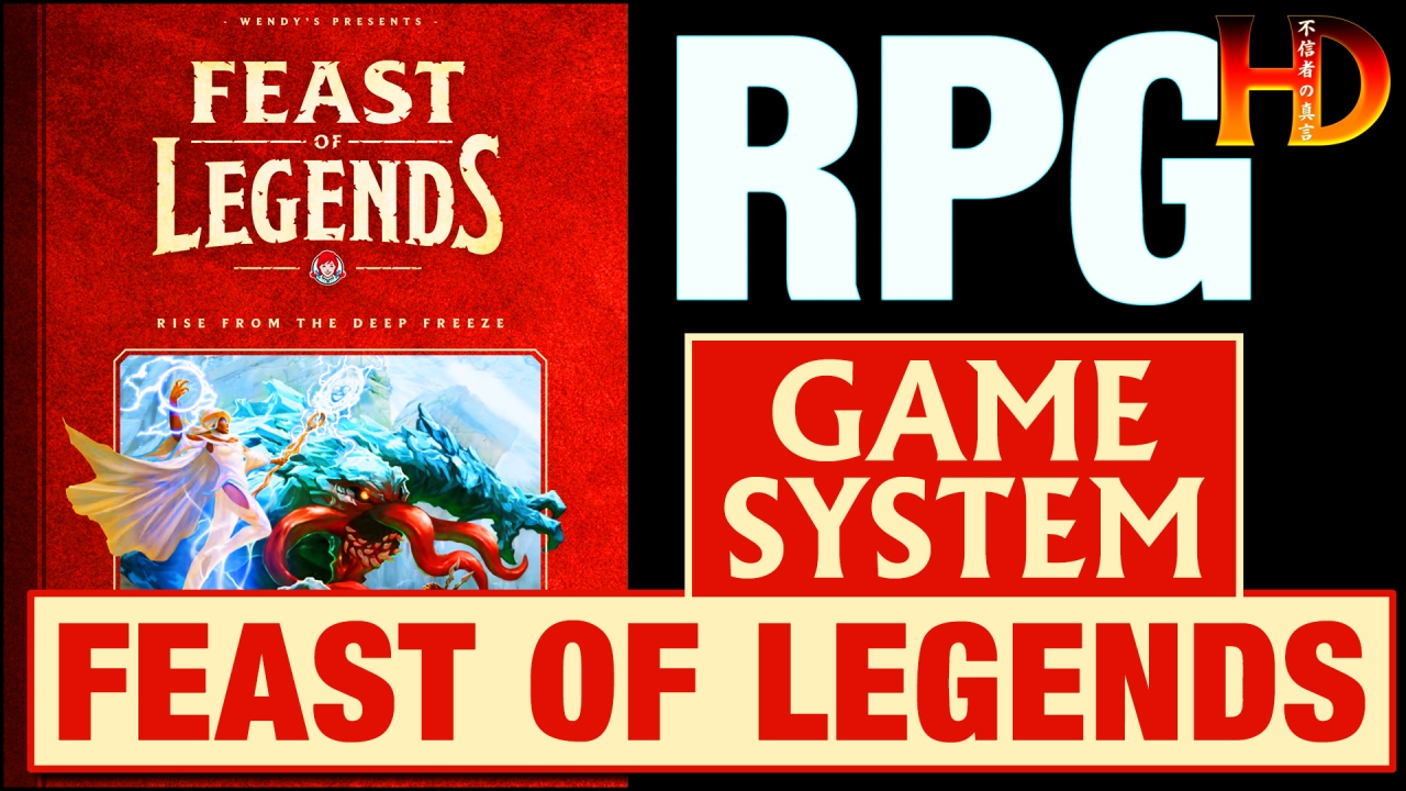 FEAST OF LEGENDS – A Tabletop RPG from Wendy's