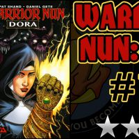 WARRIOR NUN: DORA #1 - [😐😐½] - Good writing with an unlikable main character