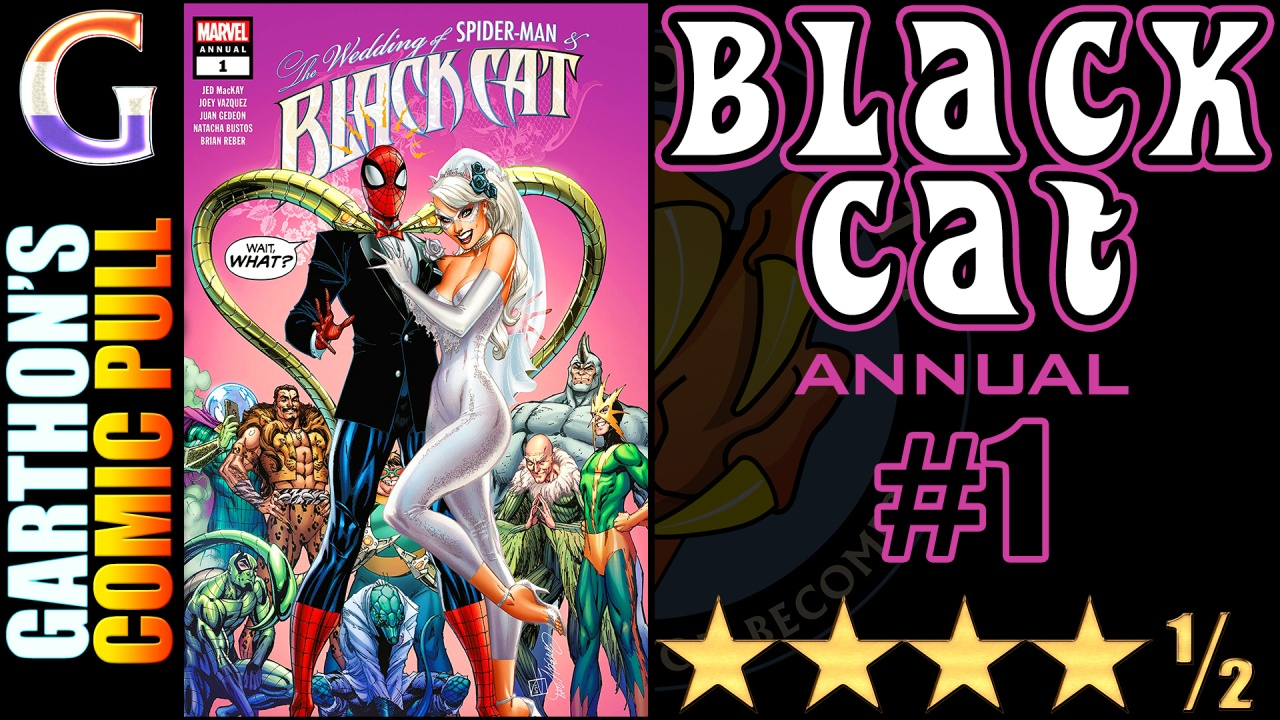 BLACK CAT ANNUAL #1 Review – [💪💪💪💪½] – A much better comic than you think!