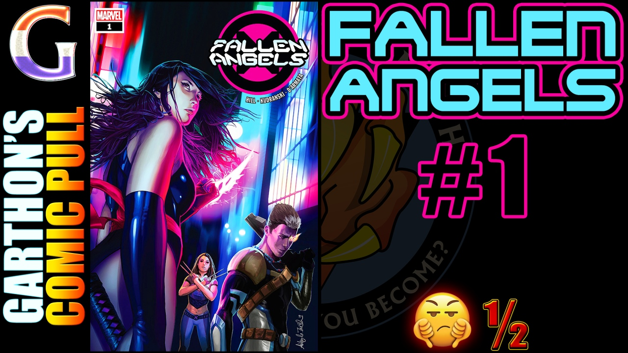 FALLEN ANGELS #1 Review – Do not buy this [💩½] book