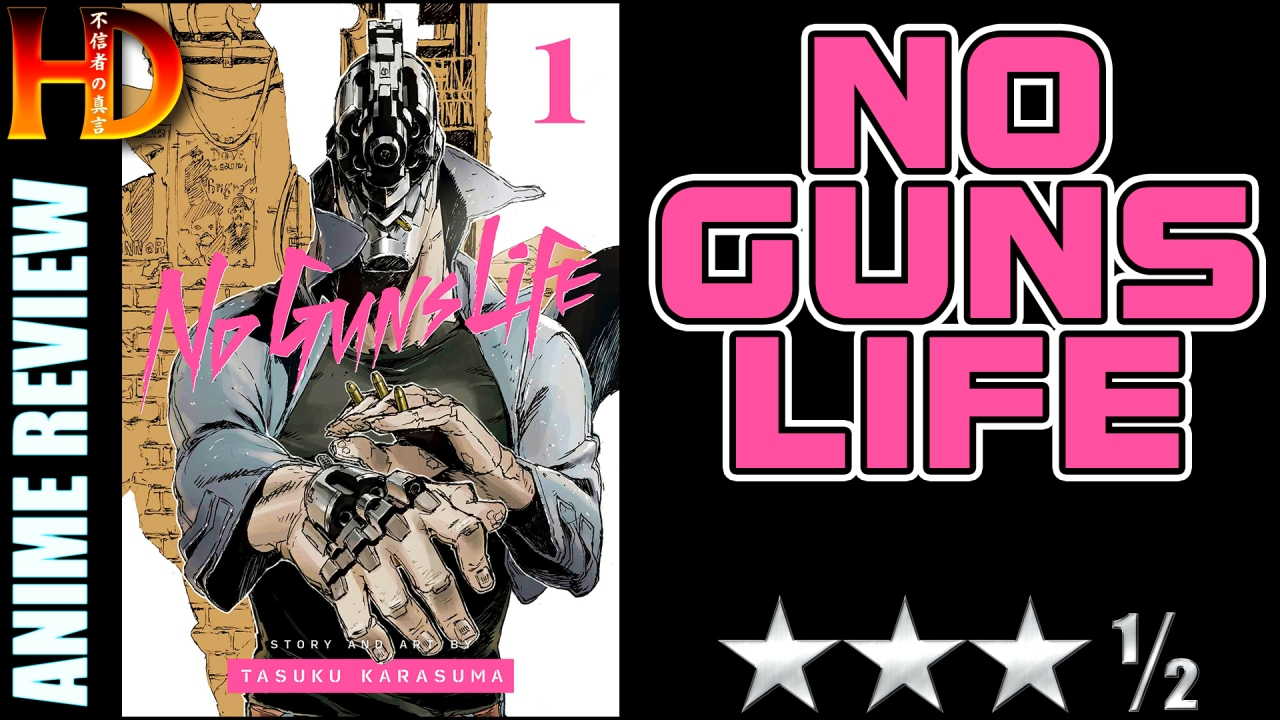 NO GUNS LIFE anime review – A good [😊😊😊½] cyberpunk-esque story