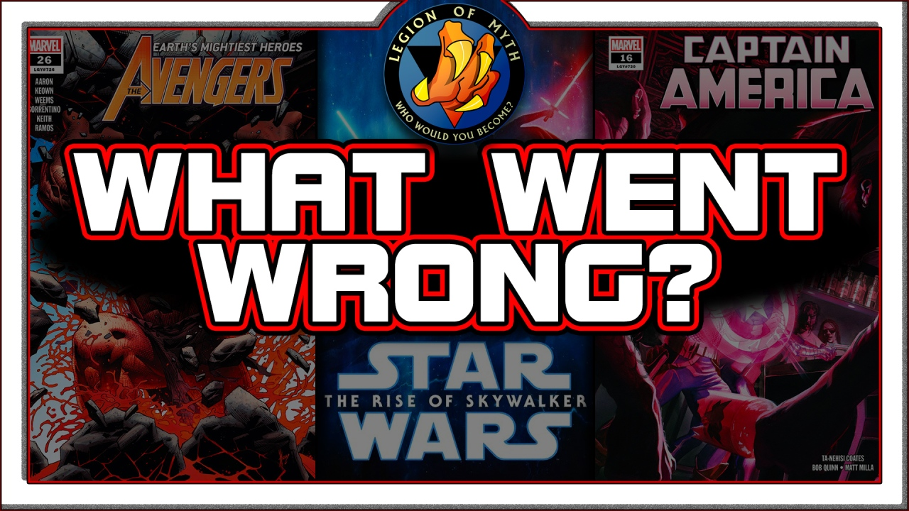 What is WRONG with current COMIC BOOKS & Disney STAR WARS?  | (BONUS – see description)
