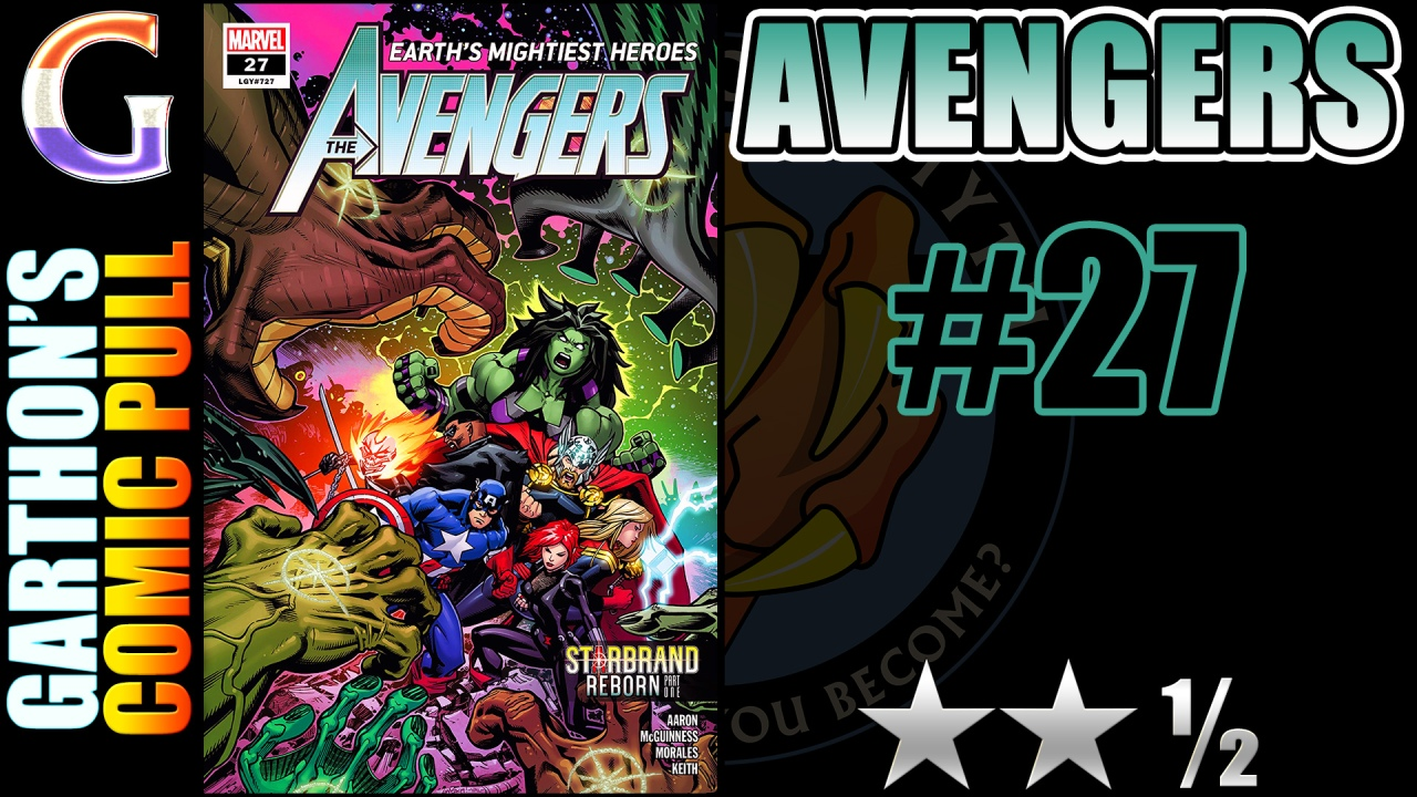 AVENGERS #27 review – Not bad @ [😐😐½]; Space Opera Brood War