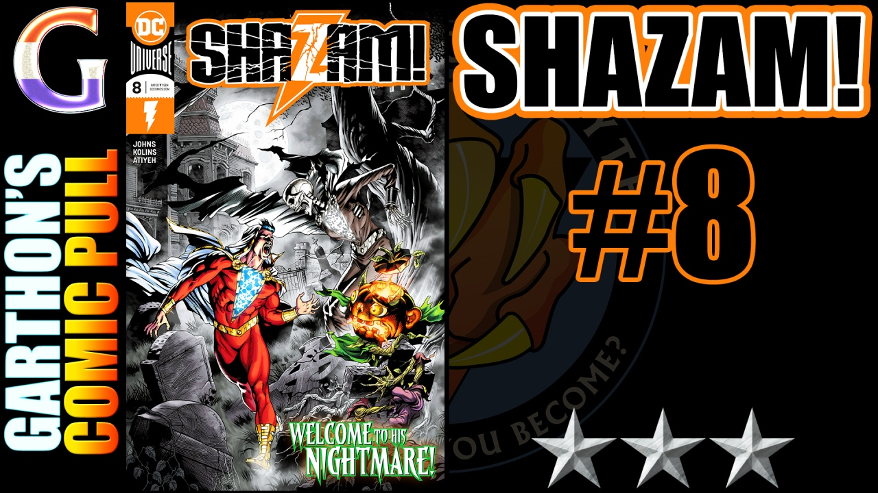 SHAZAM #8 review – A fun [😌😌😌] book that forgets Shazam's 'Wisdom of Solomon'