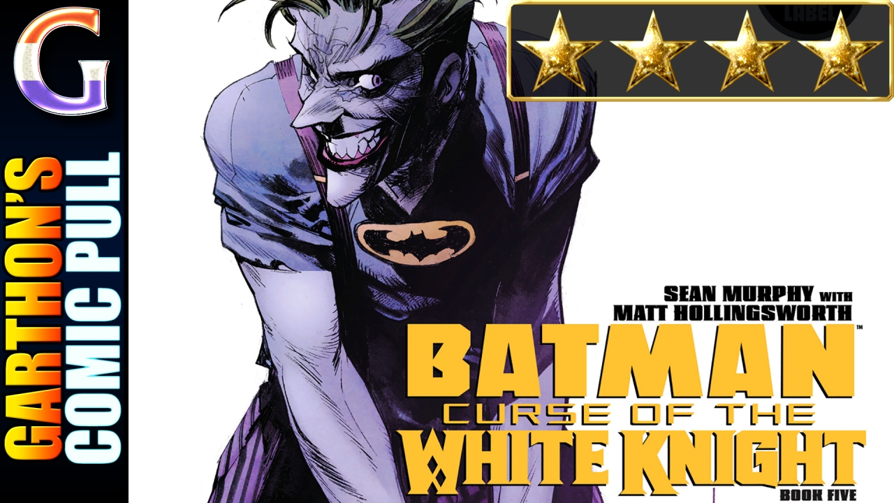 BATMAN: CURSE OF THE WHITE KNIGHT #5 – A [💪💪💪💪] book of interesting twists