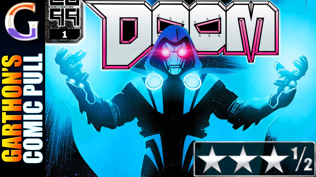 DOOM 2099 #1 – A pretty clever [😊😊😊½] book (if it's a one-n-done)