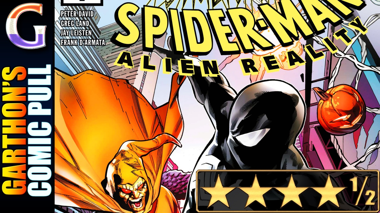 SYMBIOTE SPIDER-MAN: ALIEN REALITY #1 – A fantastic [💪💪💪💪½]book!